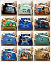 3D Customized Lilo & Stitch Bedding Set Duvet Cover for Comforter Pillow Shams