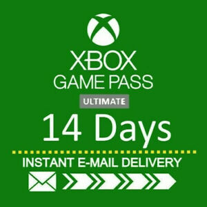 Xbox Live Gold + Game Pass Ultimate 14 Day trial Digital Code 30S DELIVERY