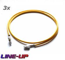 3x Reparatur Einzelleitung Kabel Kontakt Sicherungskasten wie 000979227E Audi VW