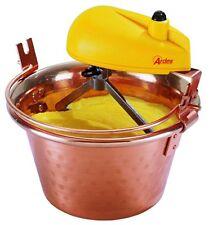 Paiolo elettrico in rame per polenta e marmellata risotti impastatrice ardes2480
