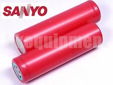 Sanyo UR18650FM 18650 2.6Ah 2600 mAh Li-ion 3.7v Rechargeable Battery x2