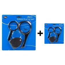 Comprar 1 GET 1 GRATIS NUEVO Magnifying Set 3pc Plegable amplificador lectura