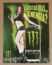 MONSTER ENERGY DRINK HOT SEXY LATINA GIRLS BEER POSTER