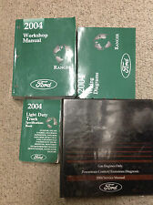 2004 Ford RANGER TRUCK Service Shop Repair Manual Set W PCED EWD & SPECS HUGE