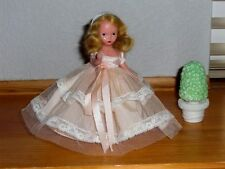 Nancy Ann Storybook Doll ~ #85 Bridesmaid Peach Dress