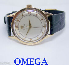 Solid 14k OMEGA  Automatic Watch 1950s Cal 354 Ref. G 6552* EXLNT* SERVICED