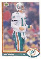 1991  DAN MARINO - Upper Deck Football Card- # 255 - Miami Dolphins