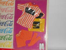 "NIP Vintage Coca Cola Coke Doll Outfit 1986 Casual Fashions 11-1/2"" BARBIE RARE"