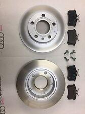 Genuine Audi A4 Rear Brake Discs & Pads - 8E0698601