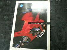 FN666 BROCHURE BMW MOTORFIETS DE NIEUWE BMW R1100 RS R 1100 RS BIG SIZE 42*30 CM