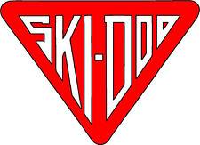 "#683 (1) 3"" Ski-Doo racing bee skidoo bombardier Vinyl Decal LAMINATED stickers"