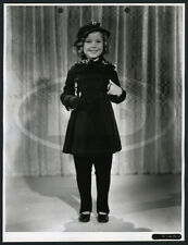 1936 Original 20th Fox Keybook Fashion Photo - Shirley Temple Modeling Coat Set