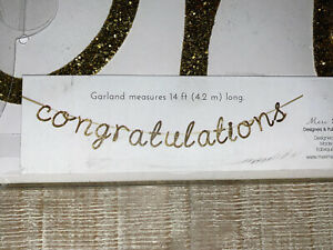 Meri Meri Congratulations Garland