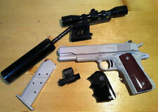 US Colt M1911 Pistol 1:1 Scale Can be Disassembled Paper Model Gun Kit