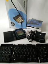 Palm Viix Wireless Internet Handheld Pda & Portable Keyboard Case Dock
