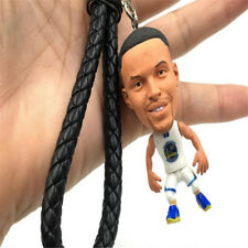 NBA Warrio Key Chain Figure White PVC Doll Stephen Curry Action Figure/Key Ring