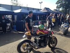 Savage Cafe Racer Frame Gsxr Bandit Suzuki Oil Cooled Hard Up Choppers