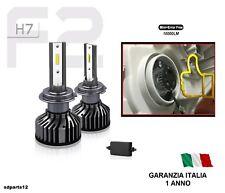 Kit Led H7 6000K Full Canbus 10000Lm Lampade Lampadine Fari Auto Headlight