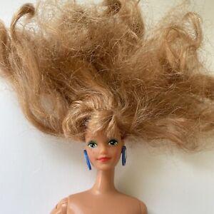 VTG 1989 Midge Barbie and The Beat Doll #2752 Original Jewelry Strawberry Blonde