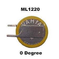 New VARTA for ML1220 3V 17mAh Button Rechargeable CMOS Coin Battery ML 1220