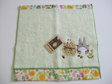 NEW!! Ghibli My Neighbor TOTORO Kawaii Hand Towel/25×26cm/Green