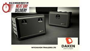 DAKEN TRAILER TOOL BOX 600x415x460 RECOVERY TRUCK SIDE LOCKER LORRY STRAP BOX