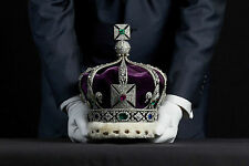 Framed Print - The Imperial State Crown of India (Picture Poster Crown Jewels)