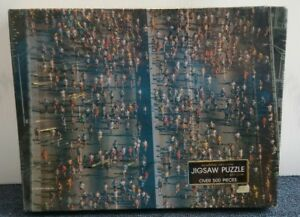 """VTG Springbok """"See How They Run!"""" Over 500 pieces Jigsaw Puzzle PZL4132 Sealed!"""