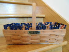 Longaberger Dave Longaberger Special Recognition Basket Set 1986 *free shipping*