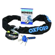 Oxford Nemesis Heavy Duty Motorcycle Security Chain & Padlock 1.5M Sold Secure