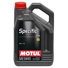 Motul 5 Litres Of BMW Specific LL-04 5W40 Fully Synthetic Engine Oil
