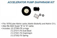 HARLEY ACCELERATOR PUMP DIAPHRAGM KIT Keihin 76-UP XL FL FX also S&S CARBS