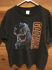 Vintage Men's Size XL Godzilla 1990's Japan Double Sided T Shirt, Good Condition
