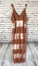 ZARA Collection Tie Dye Maxi Tank Dress Womens Size Small