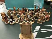Vintage Sebastian Miniatures, 40 In Lot Huge! Signed, rare, Must see! 17 Boxes