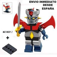 Minifigura alegorica a MAZINGER Z - custom compatible - ENVIO DESDE ESPAÑA