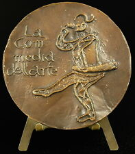Medaille Commedia dell'arte italienische Theater Volks- 72mm