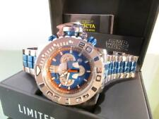 Invicta Mens Star Wars Jango Fett 70mm Sea Hunter Ltd Edi Swiss 2tone SS Watch