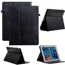 """Luxus Leder Cover für neues Apple iPad 9,7"""" 2018 Schutzhülle Tasche Tablet Case"""