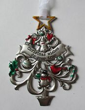 JD Christmas wishes do come true ORNAMENT Tree Ganz snowman cardinal car charm