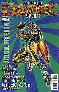 Wildstorm Ultimate Sports Official Program #1 VF; Image | we combine shipping