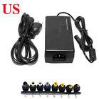 Universal Laptop Power Supply Charger AC To DC 12V/15V/16V/18V/19V Adapter US