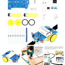 Icstation Simple Robot Soldering Practice Kit Electronic Diy Project Line F