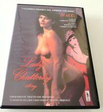 LADY CHATTERLEY STORY FILM DVD ITALIANO PERFETTO SPED GRATIS SU + ACQUISTI