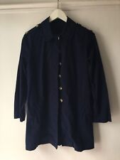 APC, MADRAS, Navy Blue Coat / jacket WOMEN'S size small
