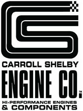 Carroll Shelby Engine Co  Metal Sign