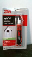 3M Wood Adhesive 18021 Outdoor Exterior, FREE SHIPPING