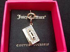 PENNINO Juicy Couture edizione Oro Con diamanti finti Musica Retro Nastro Mini