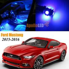 Full Blue LED Lights Upgrade Interior Package For 2015-2016 Ford Mustang