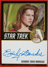 STAR TREK TOS 50th EMILY BANKS as Yeoman Tonia Barrow LIMITED EDITION Autograph